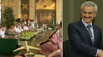 Saudi Arabian princes detained in probe
