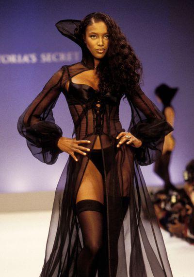 Naomi Campbell at the 1997 Victoria's Secret Show