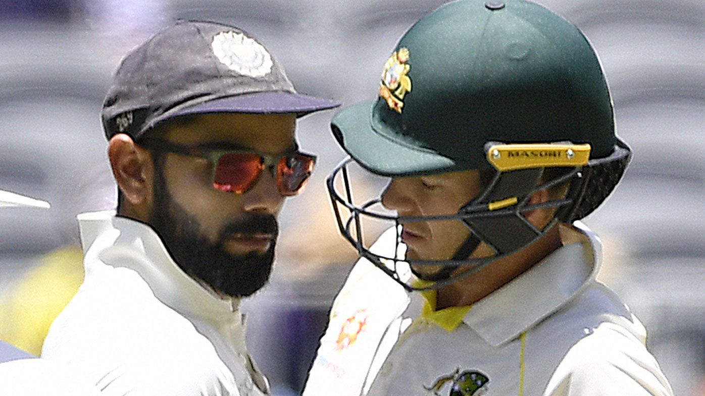 Australia captain Tim Paine slags off Virat Kohli to India teammates