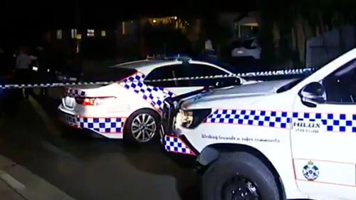 Paramedics were called to assist the critically-injured woman before 8pm yesterday inside a Wishart Road home in Upper Mount Gravatt.