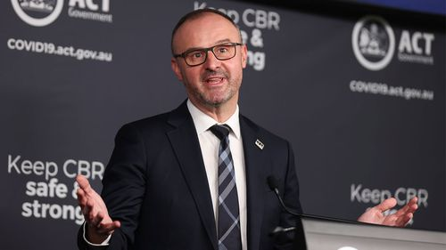 ACT Chief Minister Andrew Barr said Prime Minister Scott Morrison has questions to answer about his Father's Day trip.