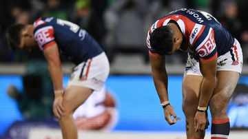 Roosters blow chance to take top spot