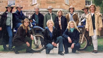 The cast of McLeods Daughters.