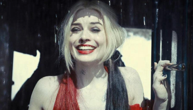 Margot Robbie is back as the scene-stealing Harley Quinn.