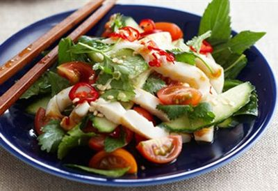 Tuesday: Thai squid salad