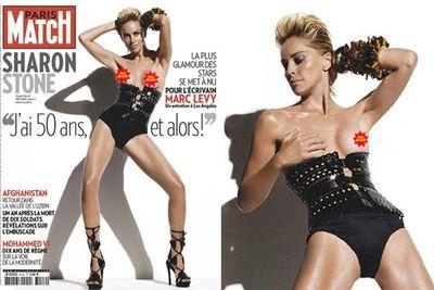 Shazza posed for this <i><b>Paris Match</b></i> shoot at age 51!