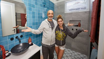 Harry and Tash guest ensuite on The Block 2020