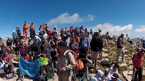The Mt Kosciuszko Wheelchair Summit Challenge raised money for SpinalCure Australia.