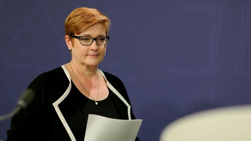 No formal proposal for the legislative amendments outlined in this document has yet been made, Defence Minister Marise Payne has confirmed. (AAP)