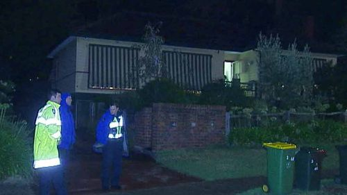 Homicide detectives are treating the Briar Hill death as suspicious. (9NEWS)