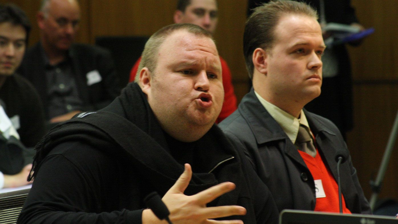 Dotcom argues he can't be held responsible for those who use his site for illegal purposes. (NZN Image/David Williams/AP)