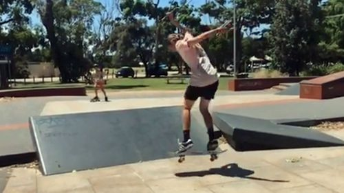 Hocking has been remembered as a talented skateboarder.