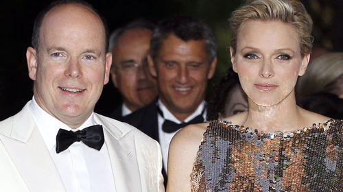 Prince Albert II of Monaco and his wife Princess Charlene. (AAP)