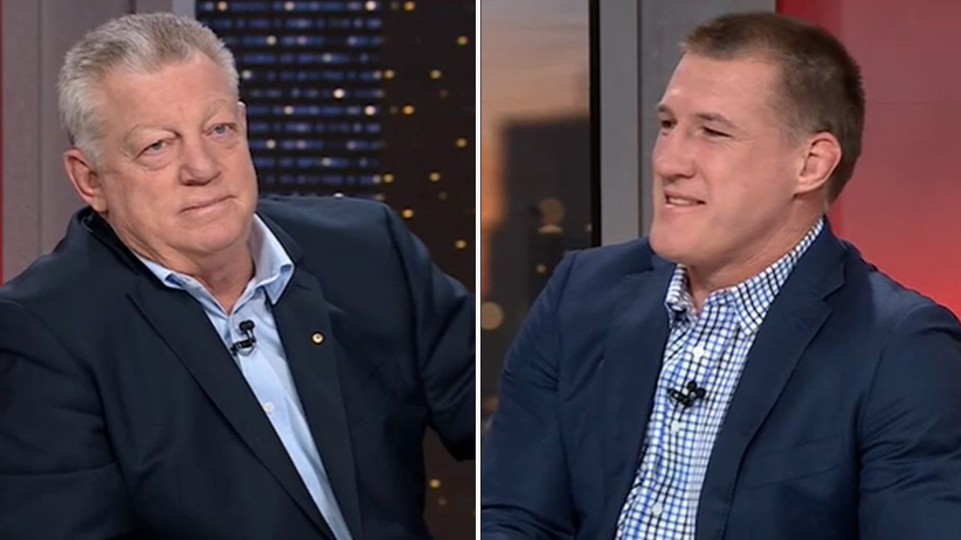 Phil Gould and Paul Gallen