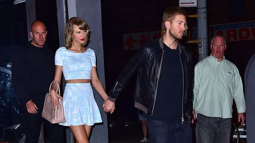 Calvin Harris, real name Adam Wiles, dated Swift from March 2015 to June 2016. (Getty)
