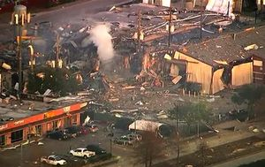 Two dead after warehouse explosion shakes Houston