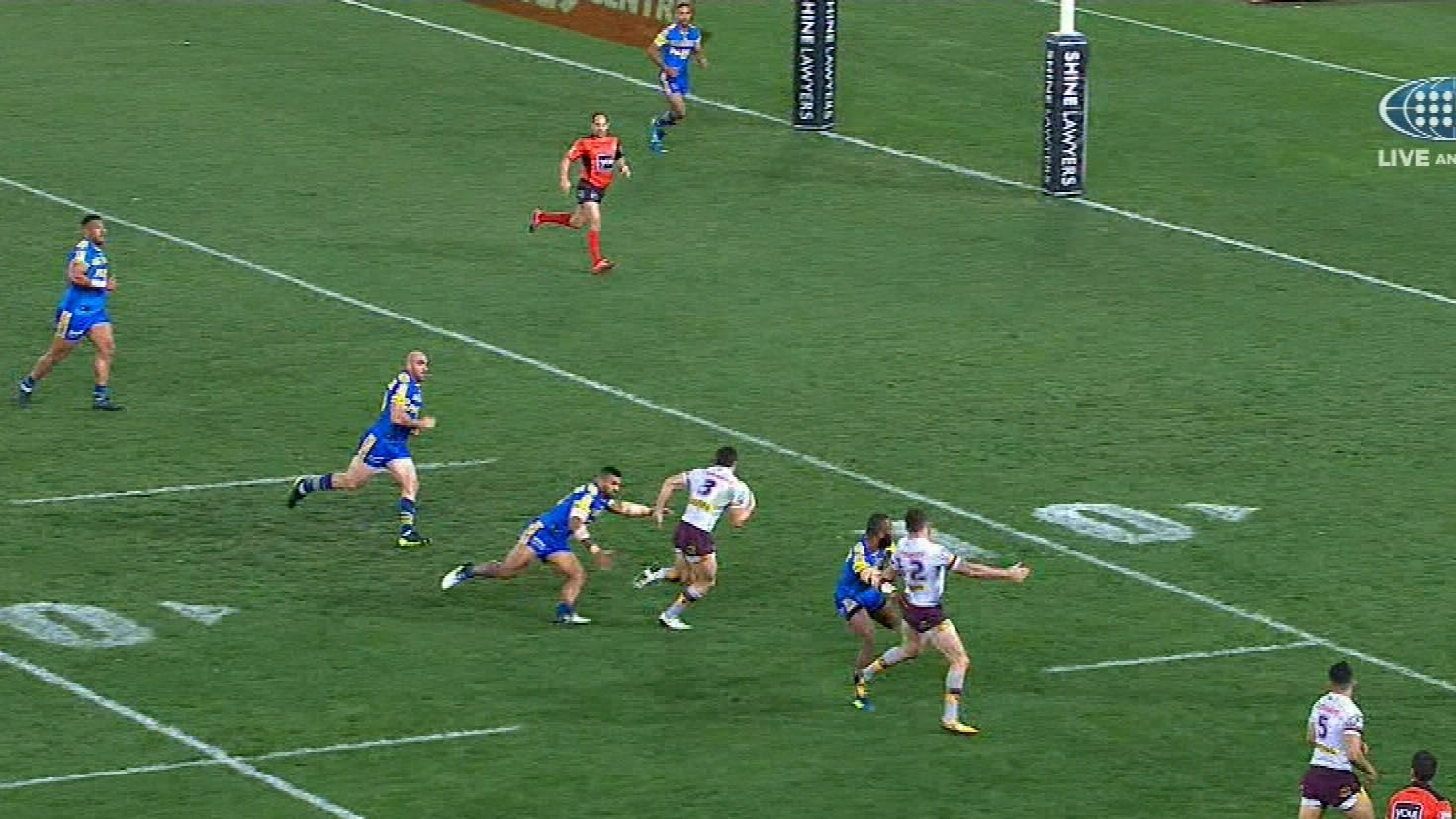 Eels claim fifth straight-win in NRL
