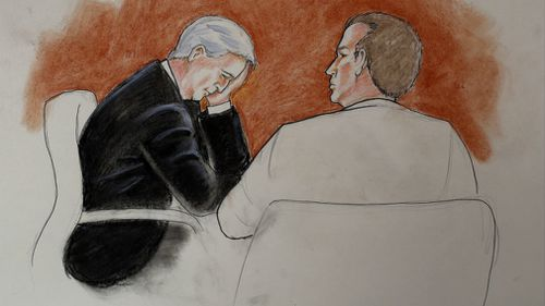 Mueller lost the case in which he was accused of assault and battery and had to pay a symbolic US$1 to Swift.