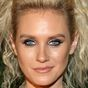 Nicky Whelan's bold red carpet look