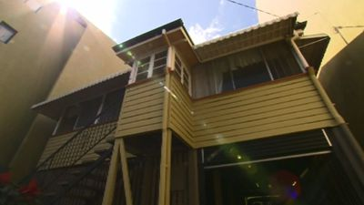 The home could be preserved, or demolished and replaced with a three-storey mixed development. Another possibility is applying for a development similar to the heights of adjoining apartment blocks. (9NEWS)