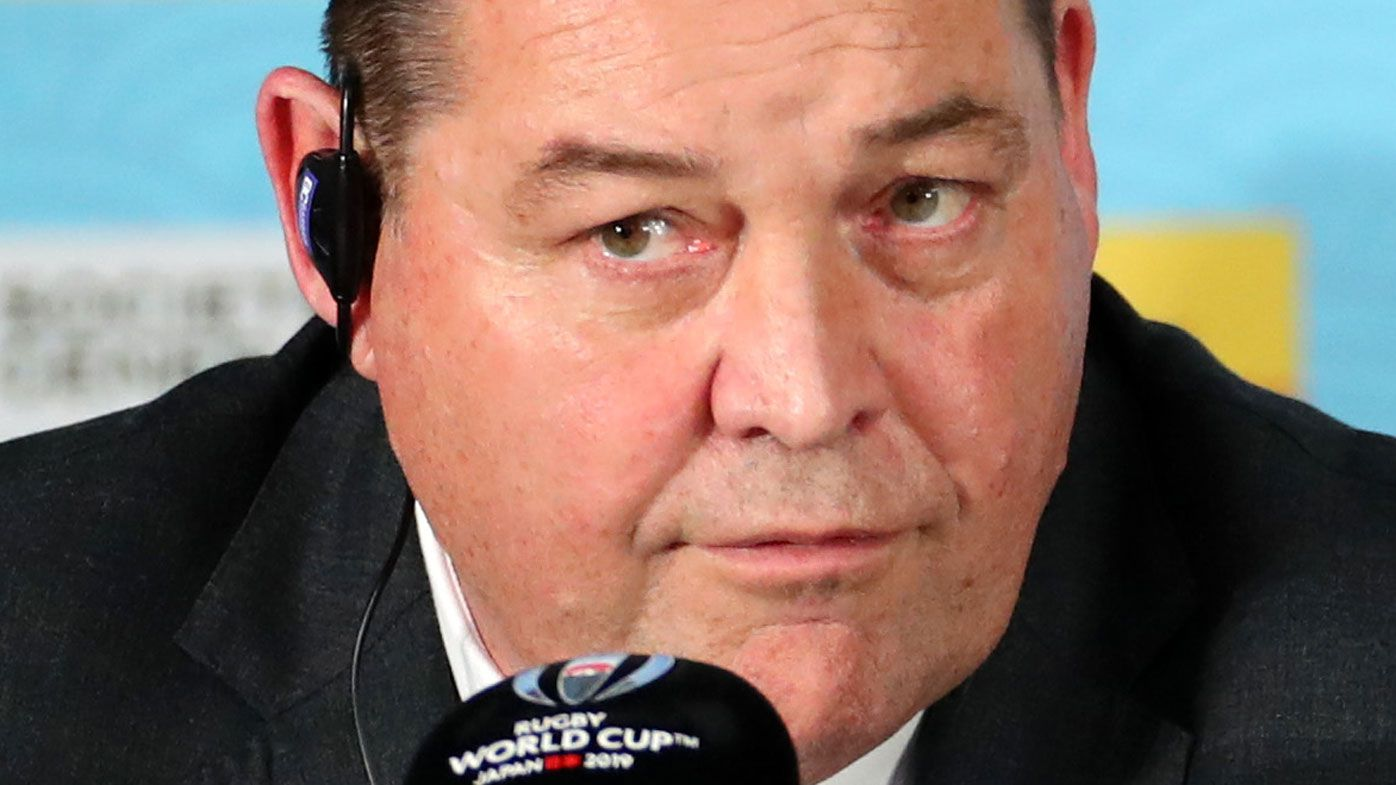 Journalist responds to All Blacks coach Steve Hansen's offer to take it 'outside'