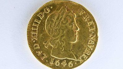 Los constructores descubren monedas de oro por valor de hasta 494.000 dólares