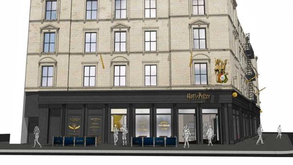 New Harry Potter store designs in New York