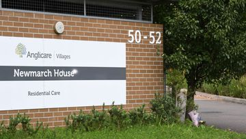 The Anglicare Newmarch House in western Sydney.