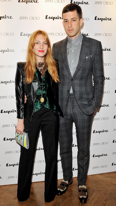 <p><strong>The new romantics<br>Mark Ronson and Joséphine de la Baume</strong></p>