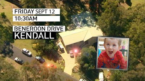 William Tyrell went missing on September 12. (9NEWS)