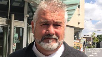 Ipswich City Council contractor Wayne Innes. (AAP)
