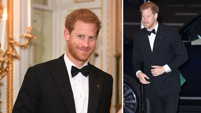 Prince Harry at the 100 Women in Finance Gala dinner, October 2017