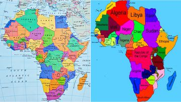 An error on Ethiopia's Ministry for Foreign Affairs map of Africa has caused uproar on social media.