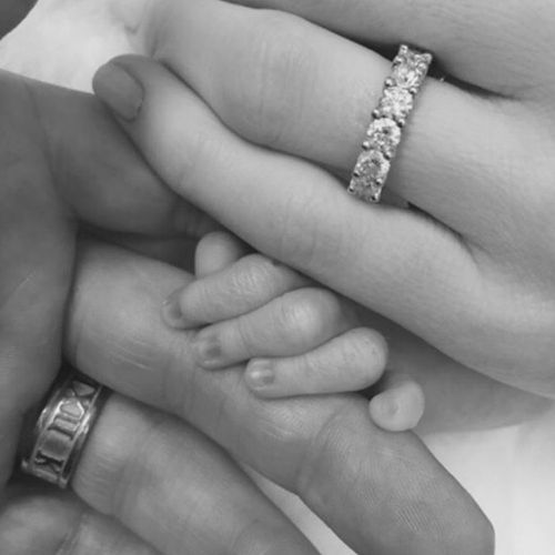 Michael and Kyly Clarke reveal name of newborn daughter