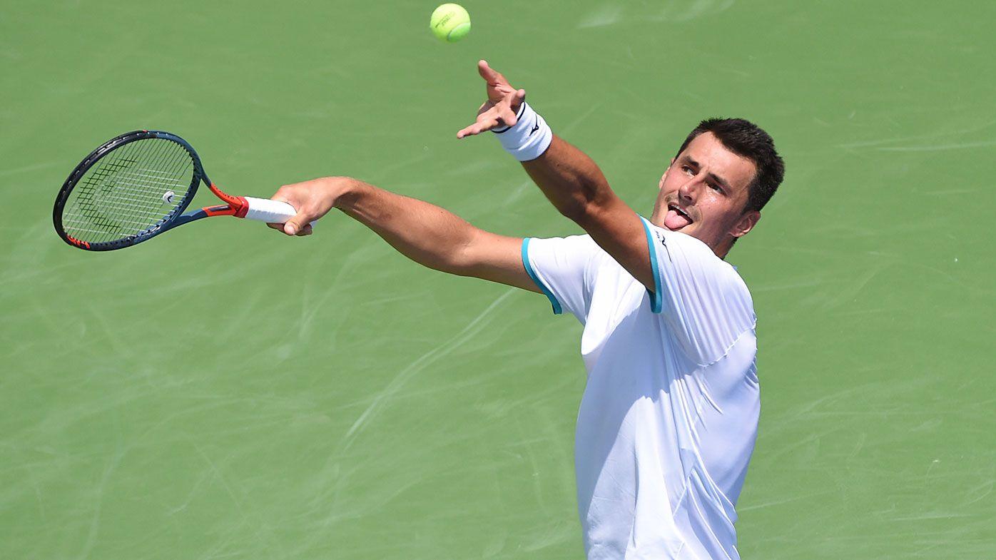 Bernard Tomic to face Alex de Minaur to quarter-finals in Atlanta Open