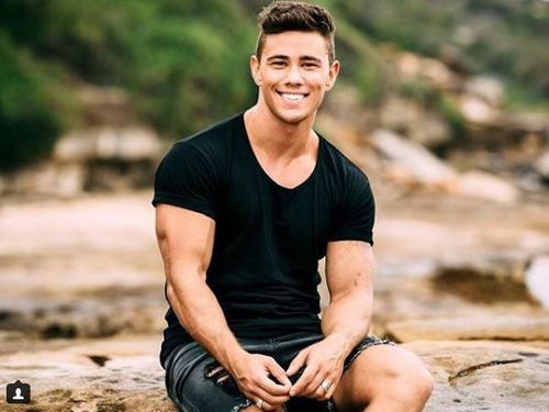 'Home and Away' star Orpheus Pledger has, for the first time, revealed how he tackled an offender to stop a woman being violently attacked. Picture: Instagram.