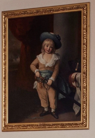 Painting of Prince Octavius at Windsor Castle