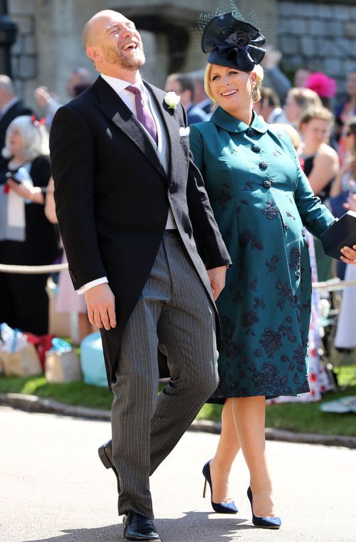 Zara and Mike Tindall have welcomed a baby girl. Picture: Getty