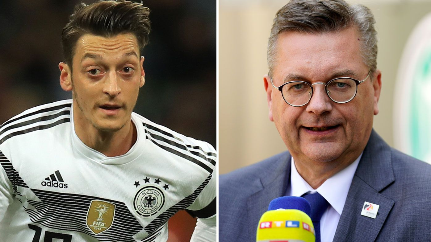 Germany football boss admits mistakes in Mesut Ozil furore