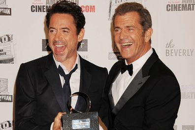 Robert Downey Jr and Mel Gibson