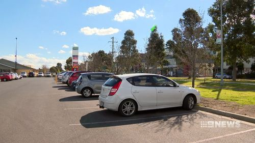 The alleged carjacking unfolded at a Braybrook shopping centre in Melbourne's west.