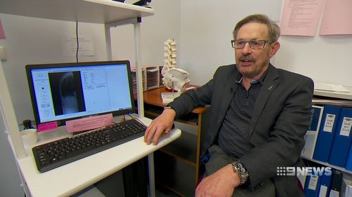 Professor Richard Prince said the technology is already available across Australia. Picture: 9NEWS