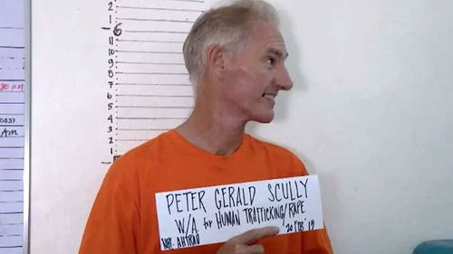 Scully was arrested in the Philippines.
