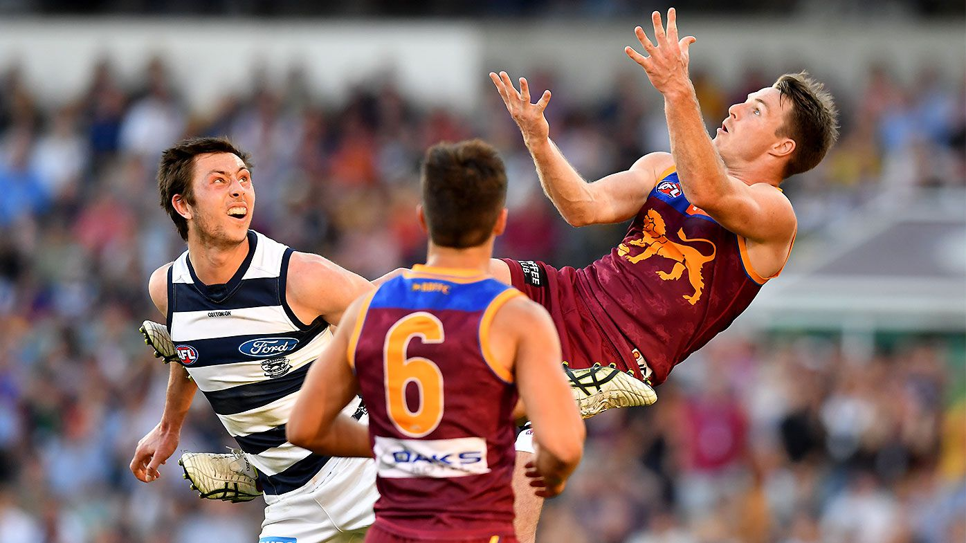 Lincoln McCarthy returns to haunt Geelong with final-minute goal as Brisbane Lions go top