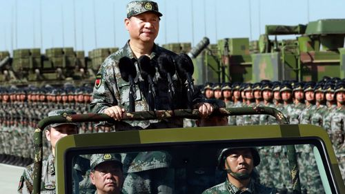 China's President Xi Jinping has overseen a massive military modernisation drive.