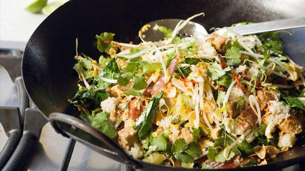 Gary Mehigan's Stir-fried Broken Rice with Chinese Sausage