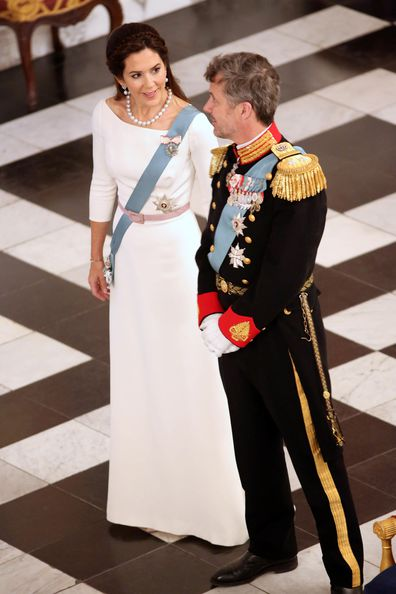 Princess Mary diplomatic reception New Year Day Danish Royals