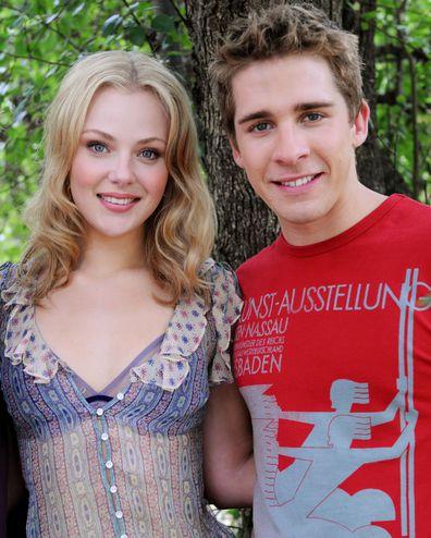 Jessica Marais and Hugh Sheridan