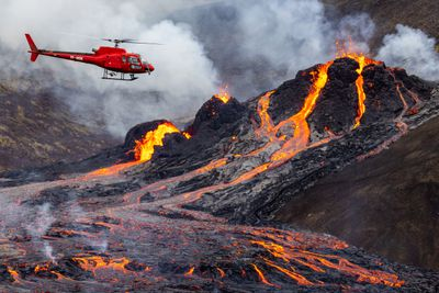 Mount Fagradalsfjall, Iceland, 2021