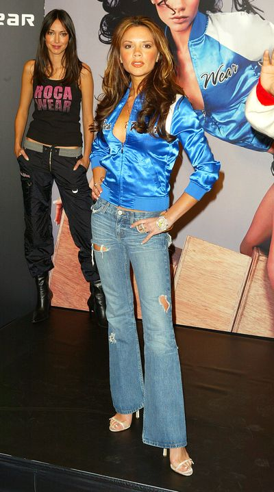 Victoria Beckham at the UK Launch Of Rocawear in London, December 2003